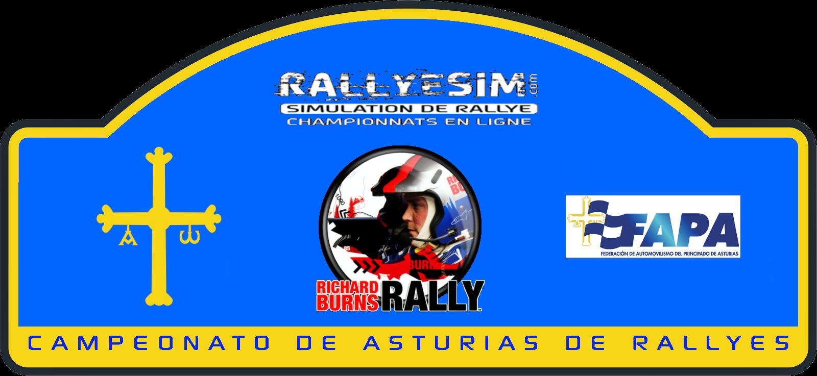 Campeonato de Asturias de Rallye online, campeonatos online en Richard Burns Rally