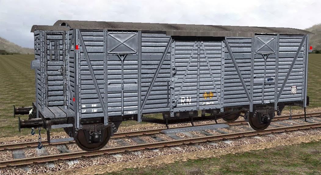 Personalització vagó 4135 de LGB (vagó tancat, amb so de loc vapor) SFCAN249