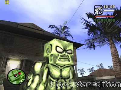 [Skin] Minecraft Green Monster 3