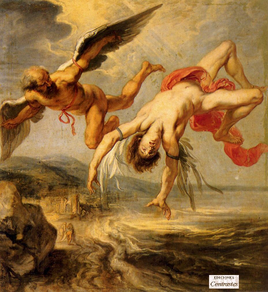 Dedalo e Icaro: l'uomo, il volo e la caduta Icaro_dedalo