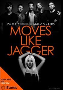 Moves Like Jagger entre las 100 canciones mas exitosas de la historia Aguilera-211x300