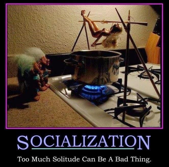 Solitude ..... SOCIALIZATION