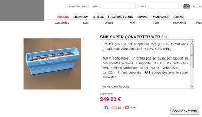 [AES] Review du Neo Super MVS-SNK Convertor II 2011 version  A
