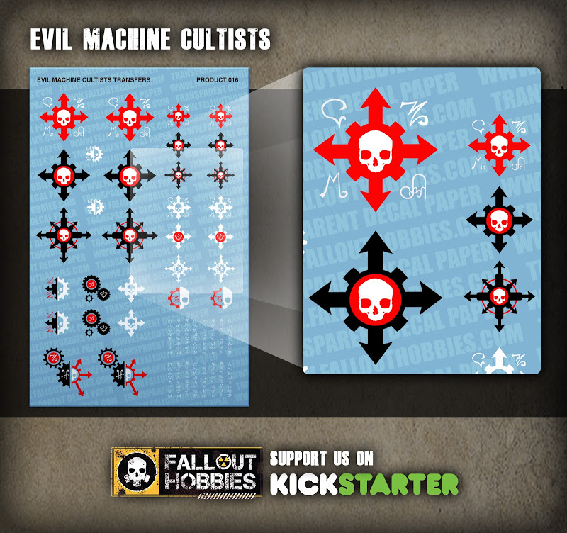 Dark Eldar Tribal Hull Decals From Fallout Hobbies Product%2BShot-Machine%2BCultists
