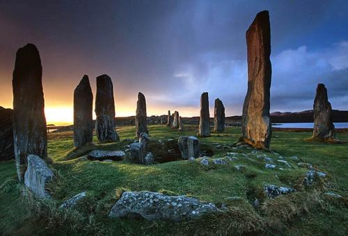 Outlander , en Escocia Piedras