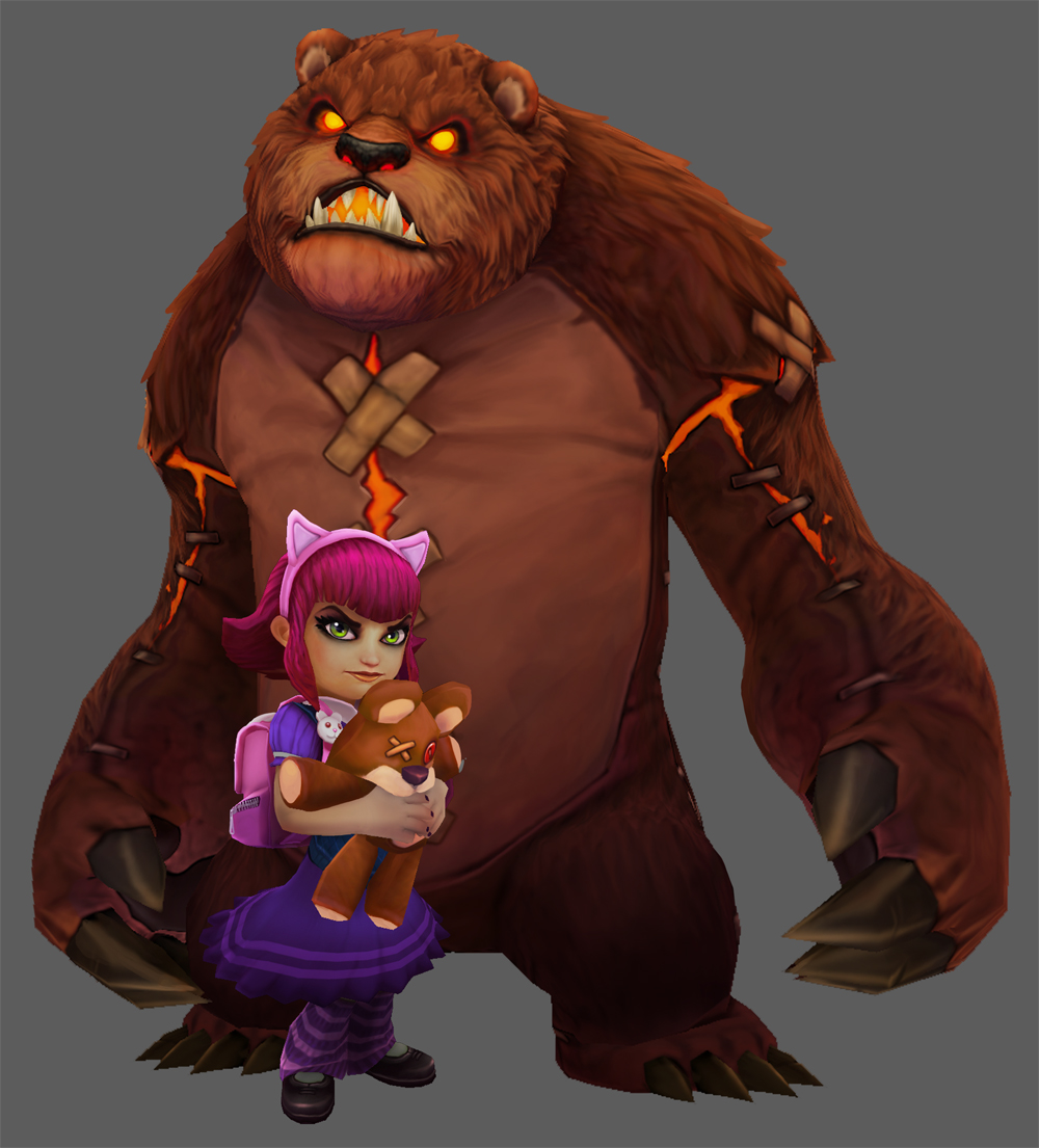 Have you seen my bear Tibbers' cosplay? Annie_tibbers_shot1