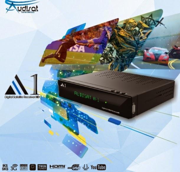 AUDISAT A1 HD IPTV NOVA ATUALIZAÇÃO - V1.80 - 30W / 61W / IKS - 08/01/2015 Audisat%2BA1
