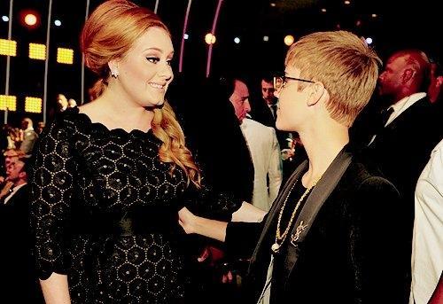 Otros artistas o famosos opinan sobre Adele Justin-Bieber-Adele