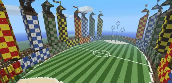 Minecraft - Seu mundo ao cubo! Quidditch-minecraft
