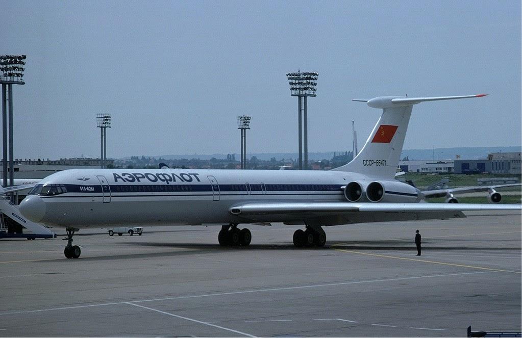arrivé de miliaires liberiens  Aeroflot_Ilyushin_Il-62_-_CCCP-86471