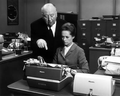 Fotografías de Alfred Hitchcock durante los rodajes Hitchcock%2B-%2BMarnie