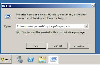 استعادة Windows 7 الى حالة المصنع دون فورمات في 10 دقائق Sysprep1