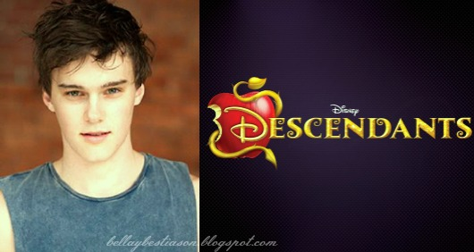 Disney Channel's 'Descendants' Casts Belle's + Maleficent Teenage Children Descendantsmitchellhopeblog