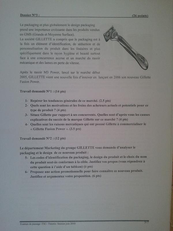 Examen de Passage TSC Pratique et Théorique 2010 005