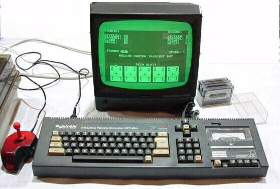 ¿cuál fue vuestro primer ordenador? Cpc464