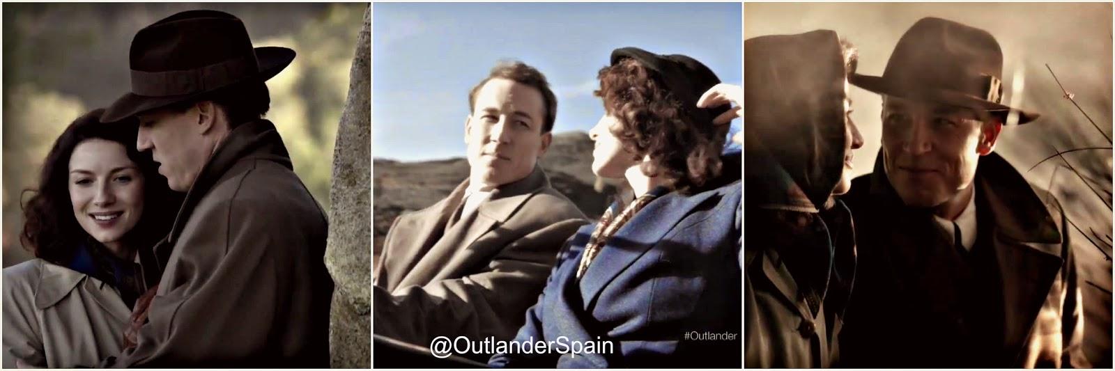 tras las cámaras de Outlander.  2