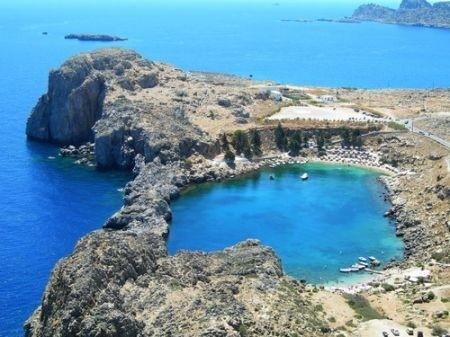Foto te cuditshme  - Faqe 4 Isole-grecia-rocce