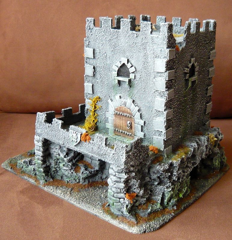 Dwalthrim's smithy - my table and terrain Dt08