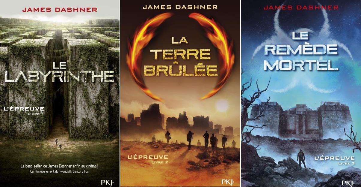 [Littérature] La saga de L'Épreuve - James Dashner  L%C3%A9preuve