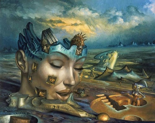 Pittura e scultura - Pagina 4 01-Multiple-Gil-Bruvel-Insurgence-of-the-Mind-Surreal-Paintings-www-designstack-co