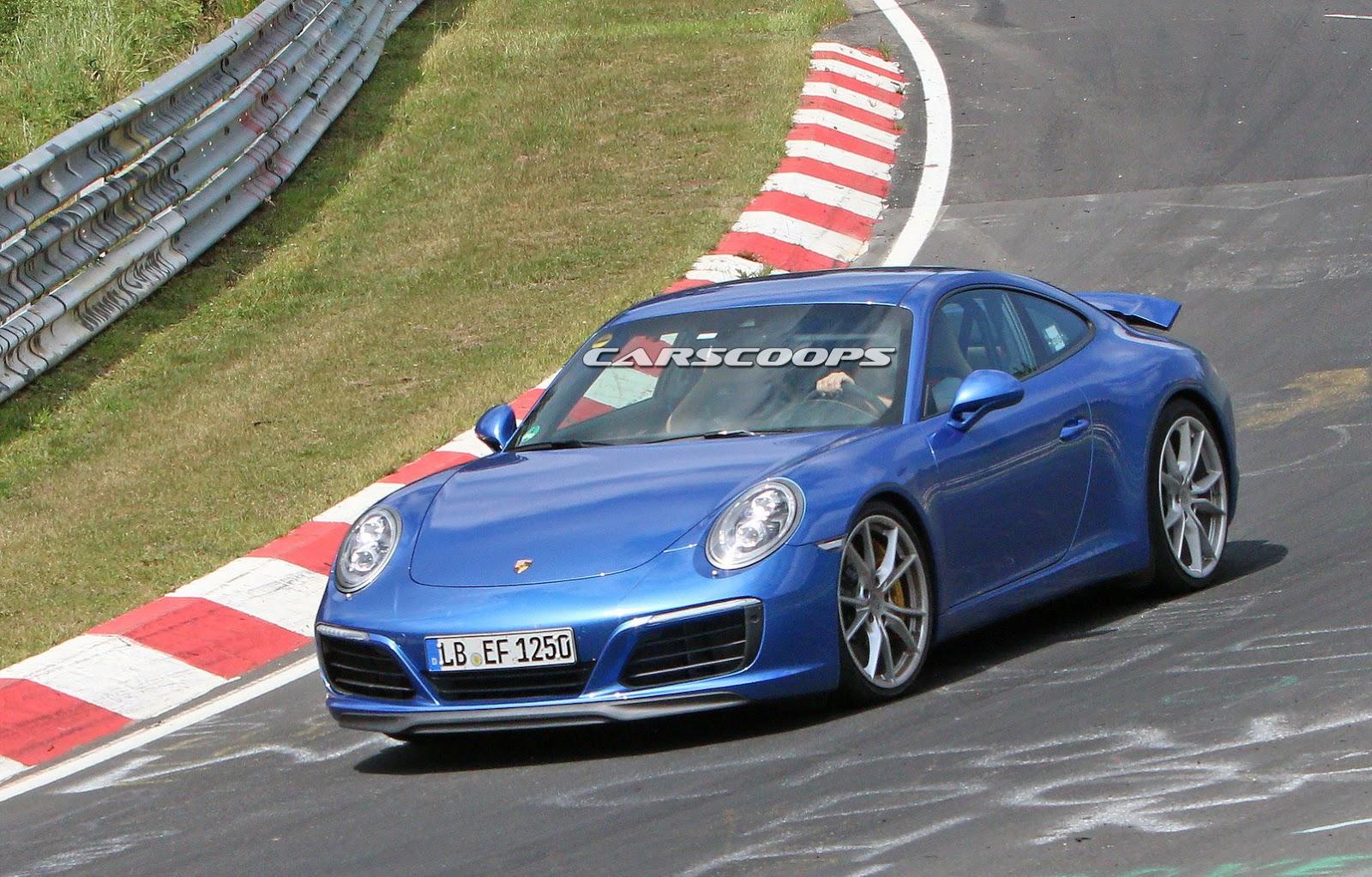 2015 - [Porsche] 911 Restylée [991] - Page 6 2017-Porsche-911-Face4