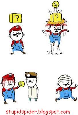 A vida do Super Mario Stupidspider