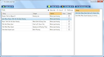 GetMusic phần mềm nghe nhạc và xem video trực tuyến từ Zing, NhacCuaTui, YouTube...! SearchPlayList