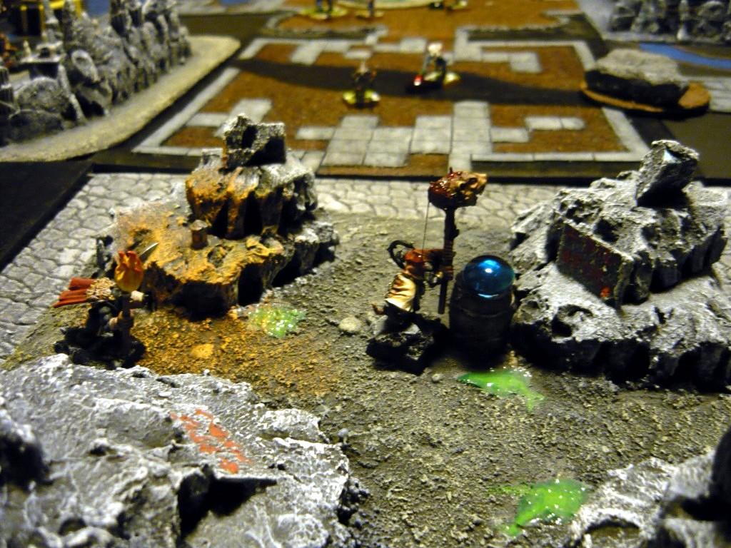 Testing Karak Zorn - first battle in the dungeons P1050519