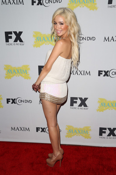 Christian Serratos - Maxim, FX, And Fox Home Entertainment Party At Comic Con 2012 (MQ) 026501605