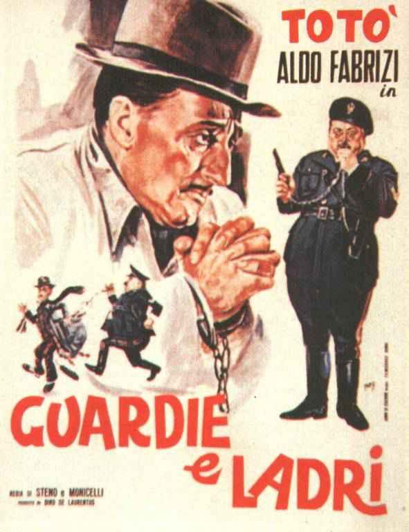 Últimas películas que has visto (las votaciones de la liga en el primer post) - Página 7 Guardie_e_ladri