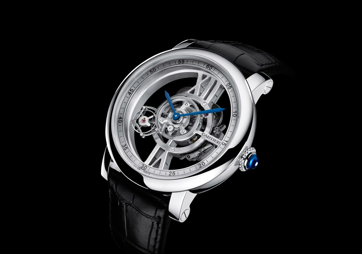 Cartier Rotonde Astrotourbillon Skeleton  Cartier-Astrotourbillon-1