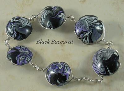 Bracciale con swirl in pasta polimerica Swirl-bracelet