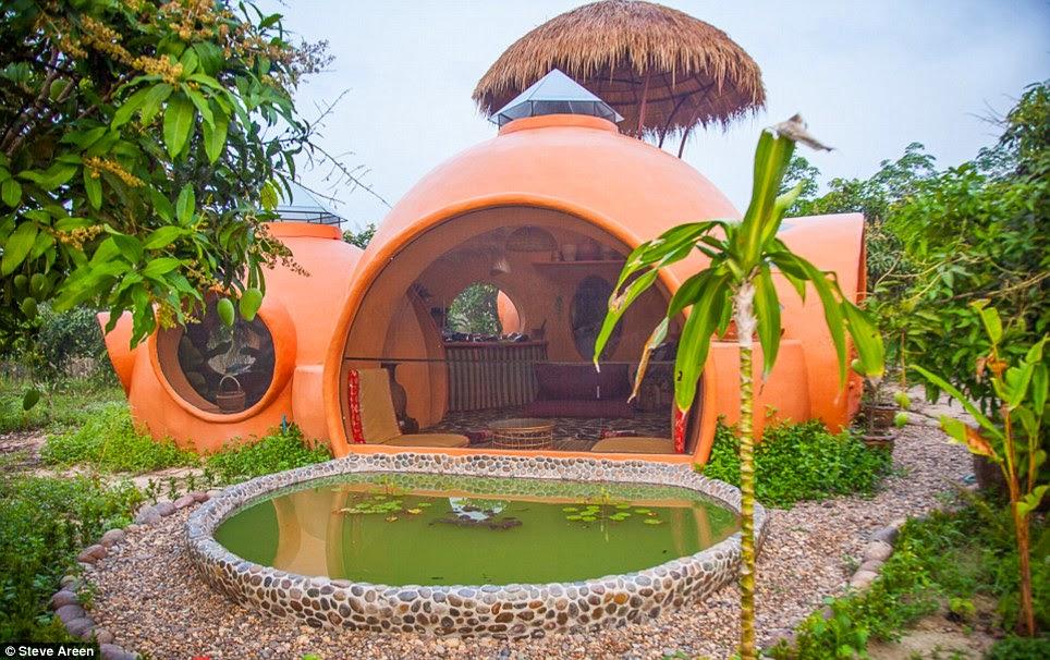 Une mini-maison de rêve en Thaïlande (photos + vidéo)  Dome3