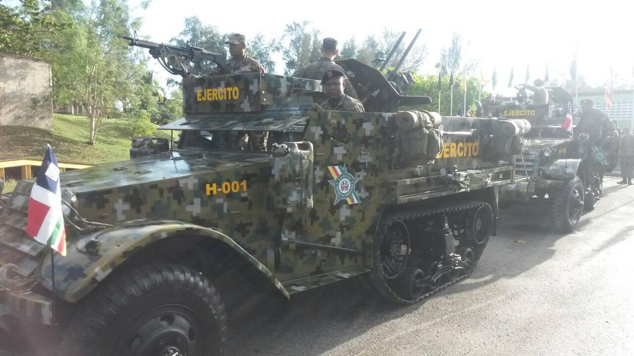 Semioruga Ejército de Republica Dominicana (actual...¡¡¡). Dominicano%2BM3