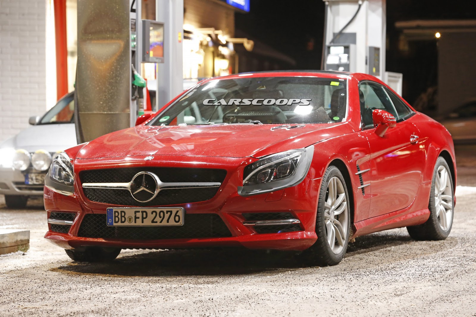 2015 - [Mercedes] SL Restylé [R231] 2017-Mercedes-SL-FL-1