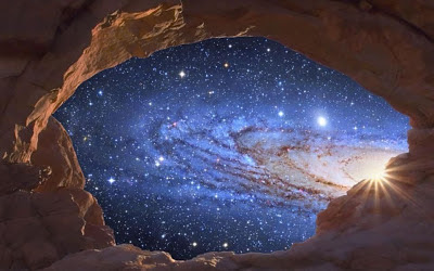 Beauty of the Universe Andromeda
