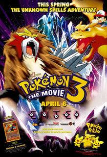 Pokémon 3: La Película  Posteref