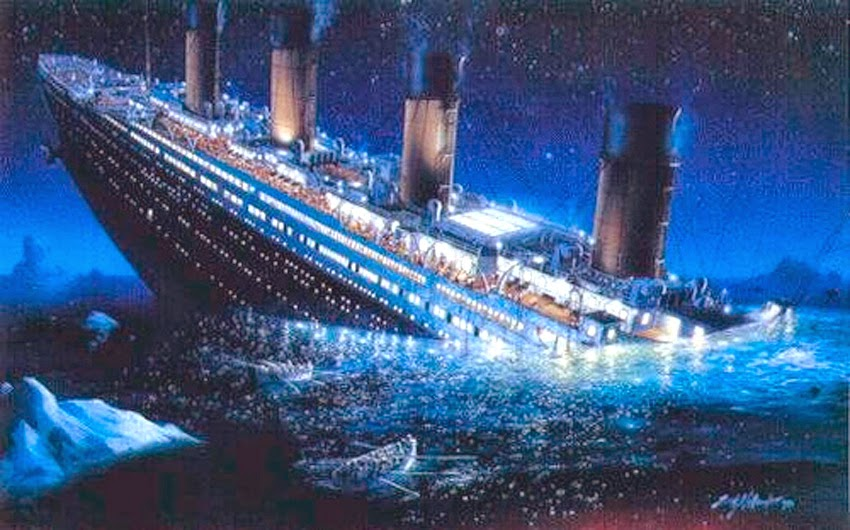 Federal Reserve ~ The Sinking Ship Titanic_sinking