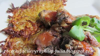 Entre pucheros y fogones......... Cordero-con-pastelitos-de-patata1