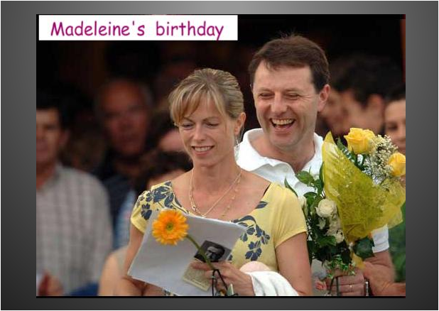 "McCanns: ""The Supreme Court decision was INVALID"" - Madeleine McCann's parents 'plan to fight Portuguese court ruling that they haven't been cleared of involvement in their daughter's disappearance' (Daily Mail, 18 Feb 2017)    MadeleineMcCann-4th_Birthday_12May2007_PraiaDaLuz_Church"