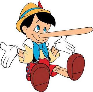 ¿Te crece la nariz como a pinocho? Pinocho