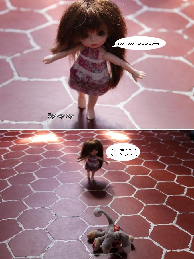 [PS At home :3] Hermione et le Daïnozaure 2