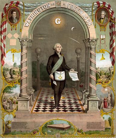 INSIDE FOOTAGE FREEMASON MASS MEETING & MORE George-washington-freemason