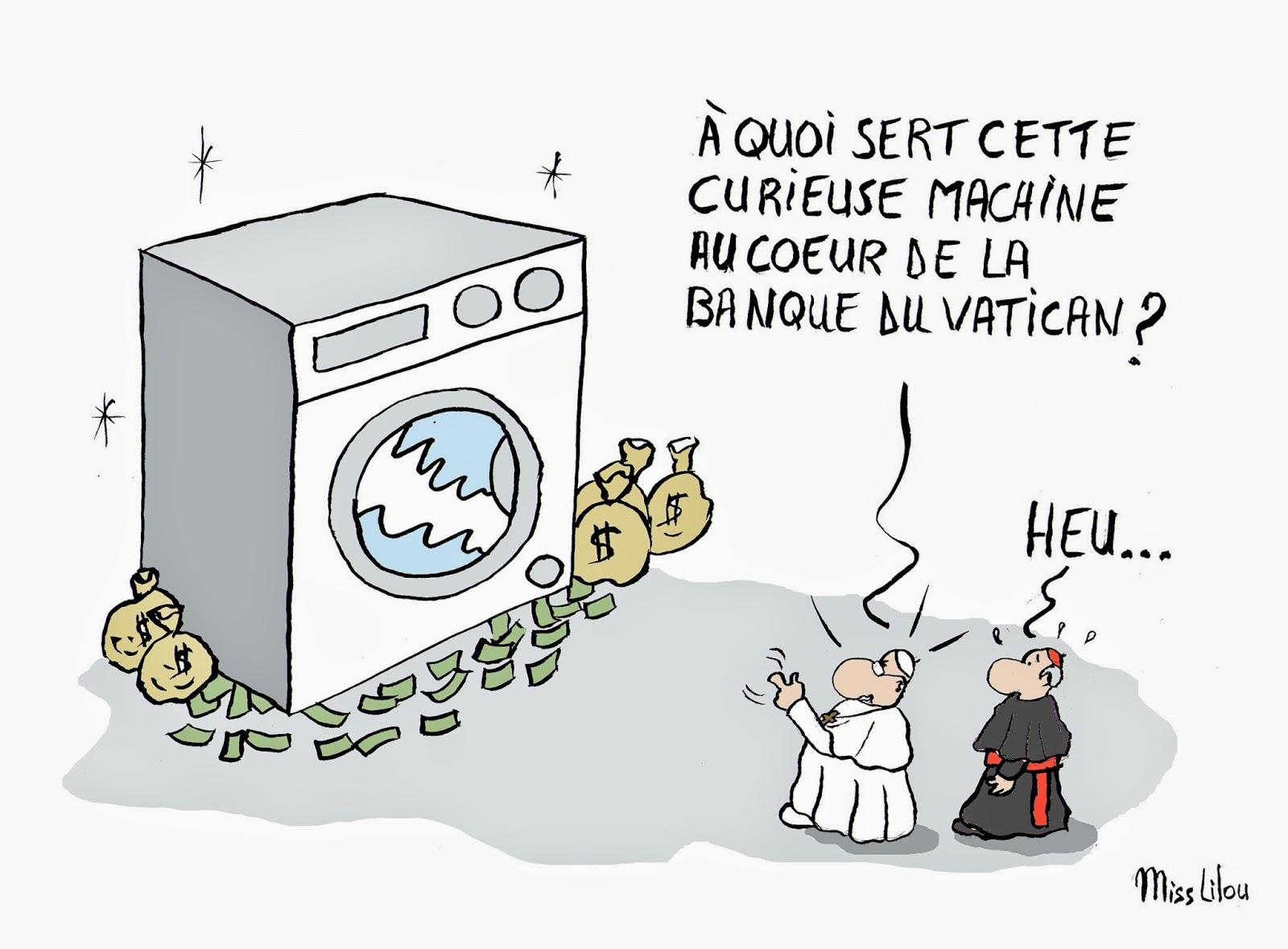 Humour en image - Page 21 Banquevatican