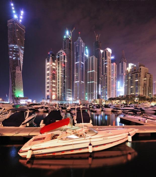 دبي ليلاً - صوراً غاية في الجمال Dubai-amazing-photos1