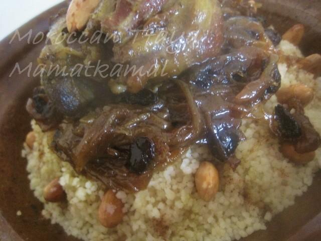 Tfaya Recipe or Caramelized Onions and Raisins / Recette de Tfaya ou les Oignons Caramélisés et raisins secs à la marocaine 0318