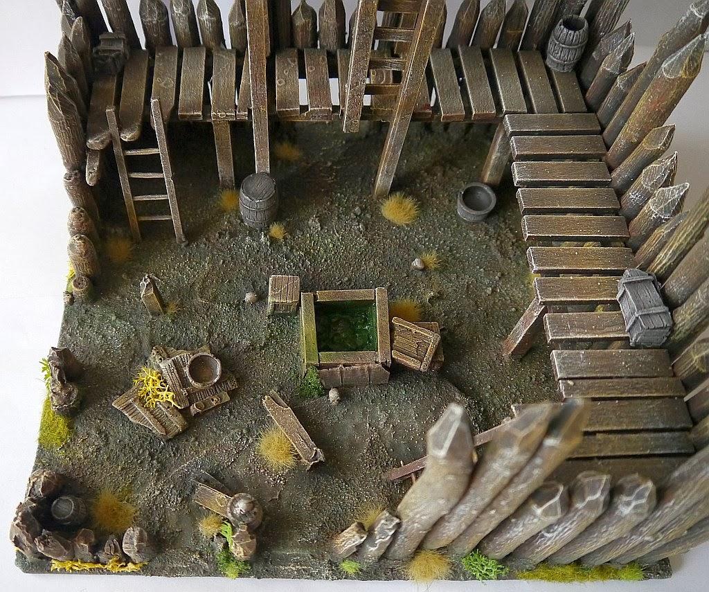 Dwalthrim's smithy - my table and terrain Zrujnowana_straznica_12