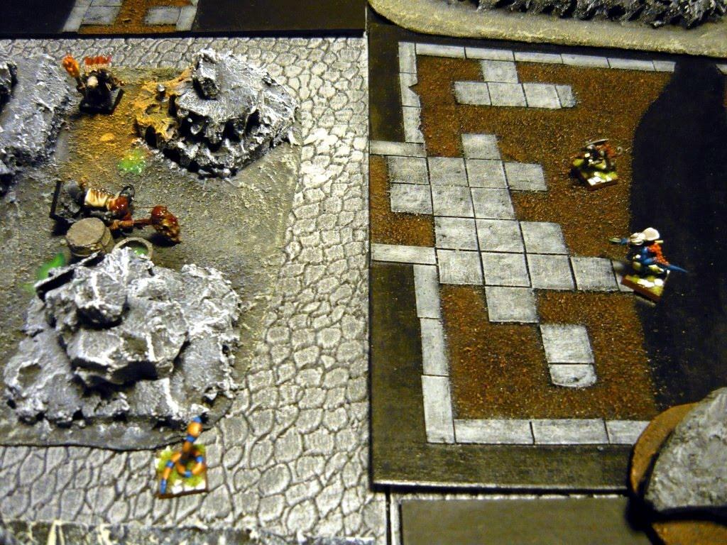 Testing Karak Zorn - first battle in the dungeons P1050523
