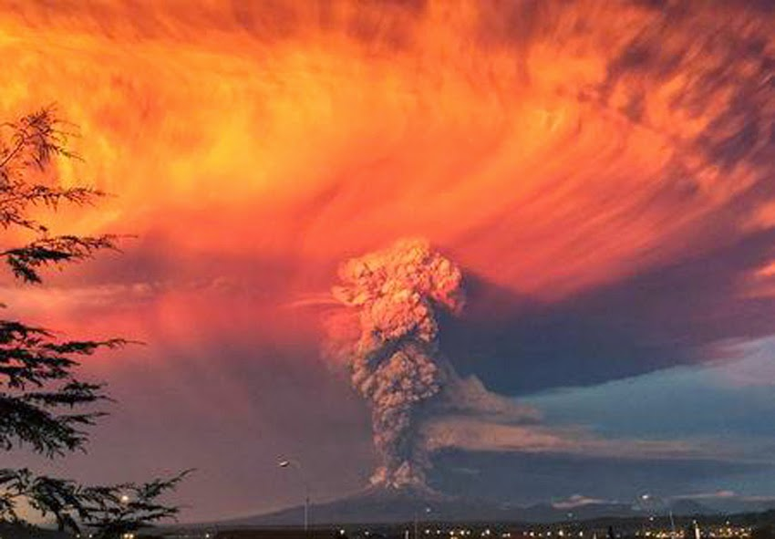 GLOBAL VOLCANISM: Ash Cloud From Chile's Calbuco Volcano Reaches Brazil  Calbuco_volcano01