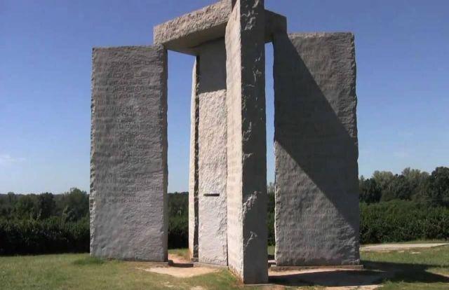 Secrets of the Georgia Guidestones and the true identity of R.C. Christian  Georgia%2Bguidestones